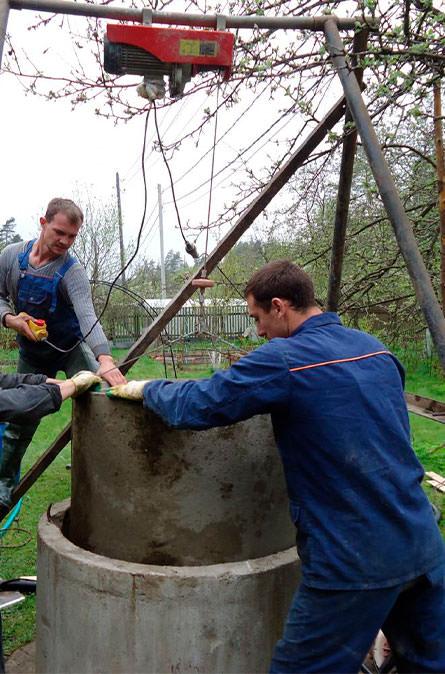 Как мы углубляем колодец в Ивантеевке